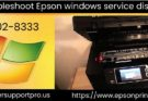 epson windows service disabled error