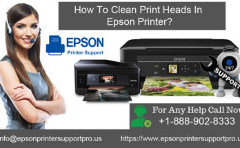 Clean Print Heads In Epson Printer