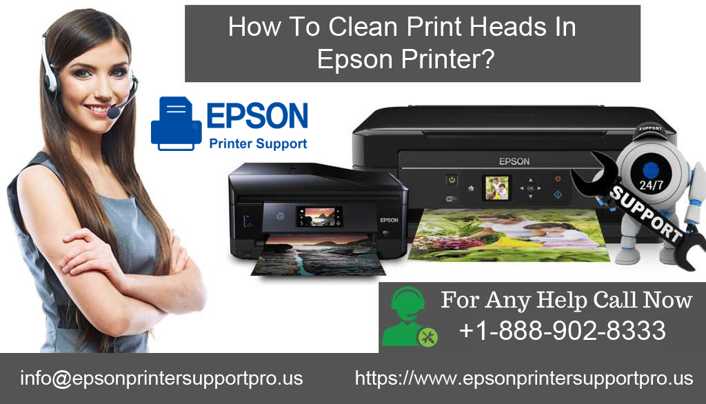 Clean Print Heads In Epson Printer