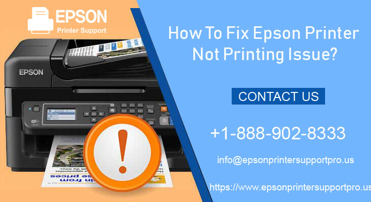 Fix Epson Printer Not Printing Issue