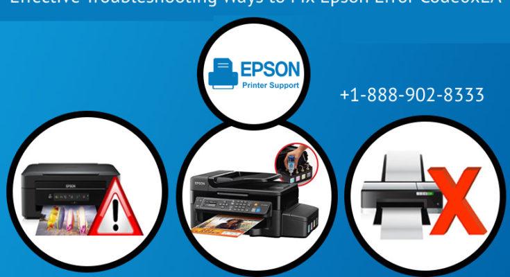 Fix Epson Error Code0xEA