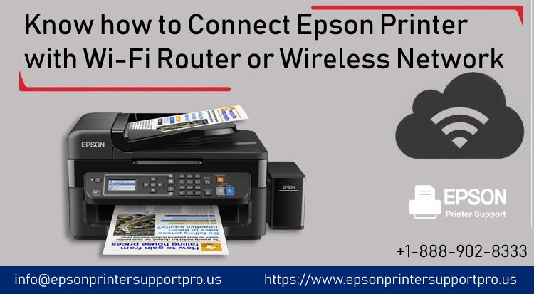 Epson printer with Wi-Fi router