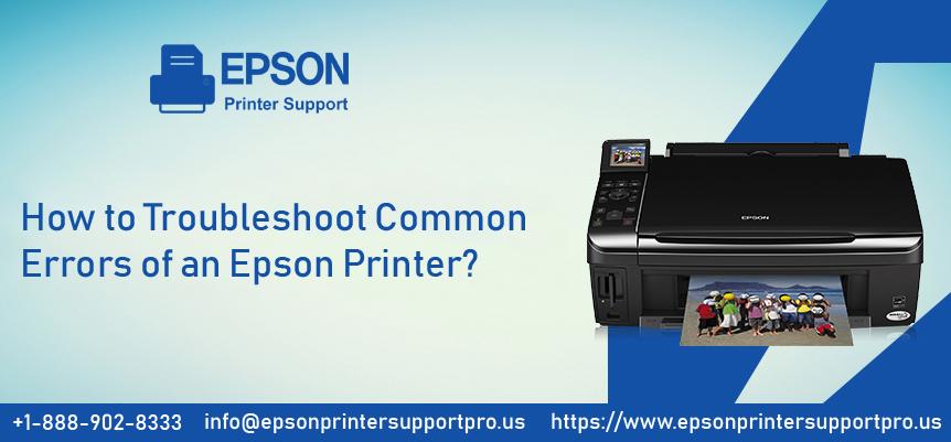 Errors of an Epson Printer
