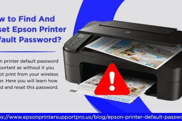 Epson printer default password