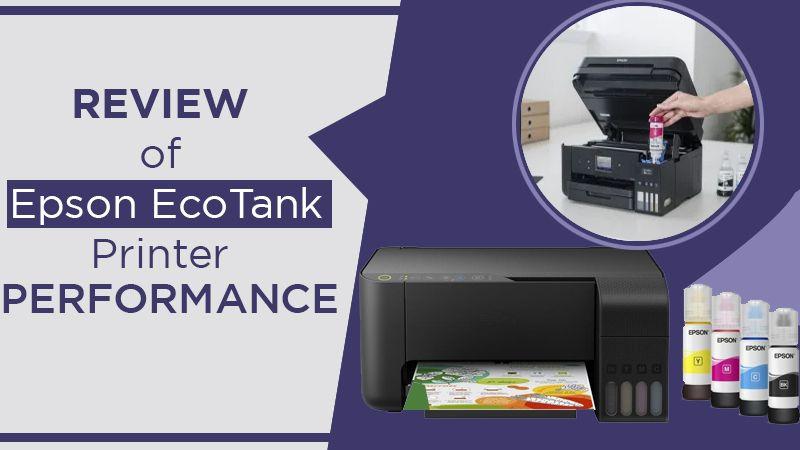 Review of Epson EcoTank Printer Performance