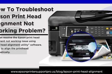 Epson print head alignment