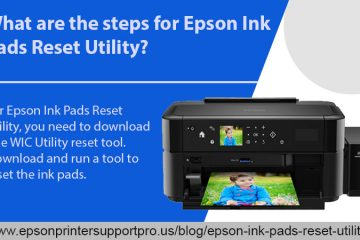 Epson Ink Pads Reset Utility