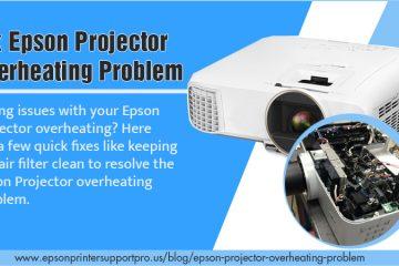 Epson projector Overheating