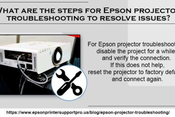 Epson projector troubleshooting