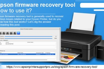 Epson firmware recovery tool